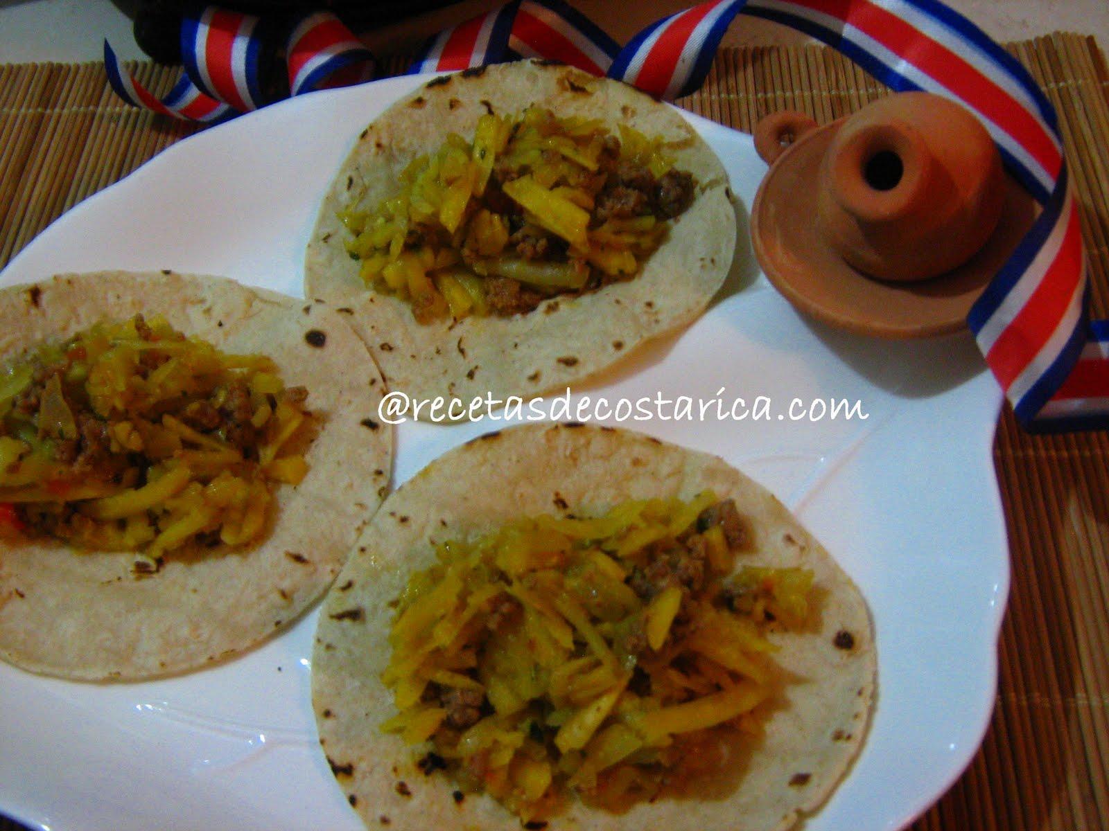 Cocina costarricense fruta de pan frita y picadillo - Cocinar calabaza frita ...