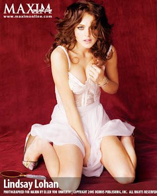 Dante News Wire: Lindsay Lohan Maxim Magazine September 2007 | Pop ...
