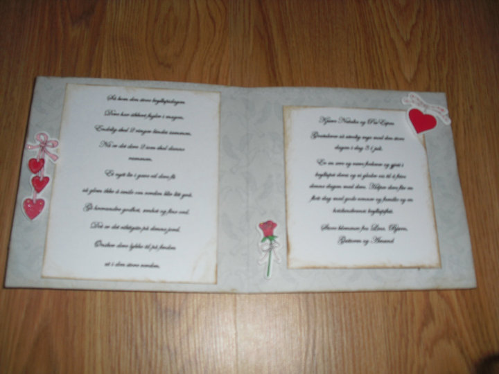 dikt til bryllup