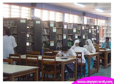 Buku-buku pts tiada langsung dalam perpustakaan sekolah mereka