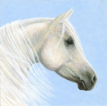Arabian Portrait painting by Shari Erickson