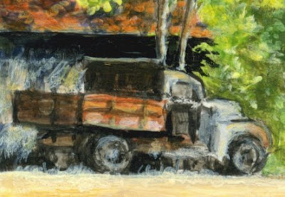 Truck Detail by Shari Erickson