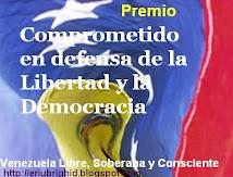 Premio Comprometido en defensa de la libertad y la democracia