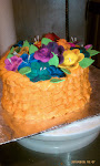 Tropical Fantasy Basket Cake