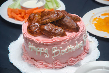 Chicken Wing Cake