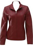 Jaket Kulit Wanita Model 10