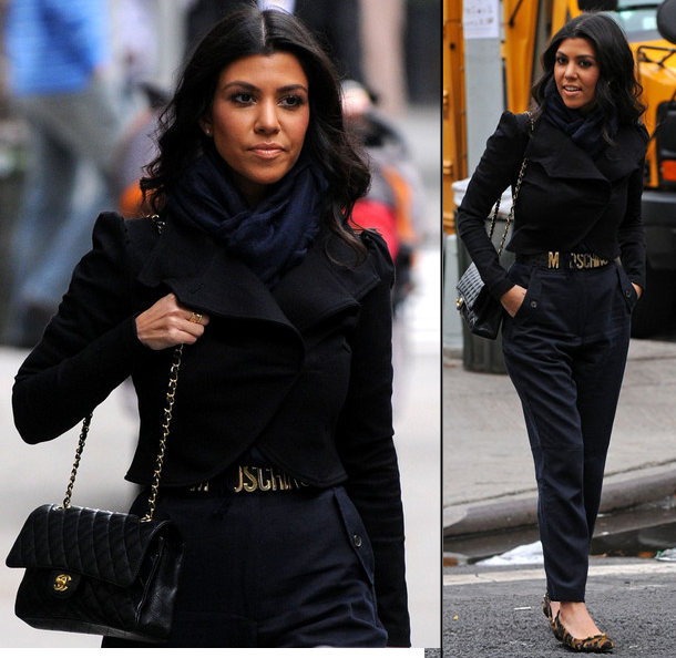 Stelavie Weekly Style Icon Kourtney Kardashian