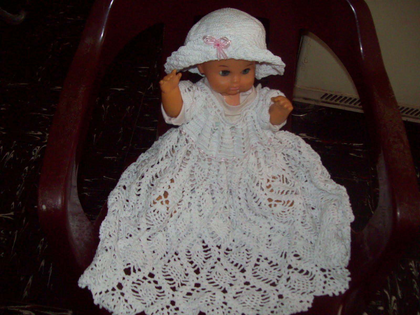 Vestidos De Bautizo A Crochet and post Vestidos De Bautizo A Crochet ...