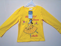 Kaos Disney Princess Yellow