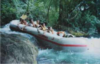 Rafting. Muita adrenalina!!!