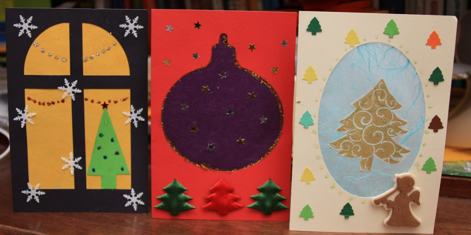 Ideas ideas ideas новогодние самодельные открытки