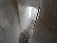 Rye church tower stairs
