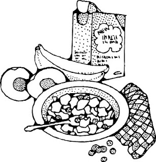 Breakfast food cartoon clipart