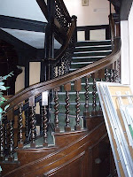 Wymering Manor staircase