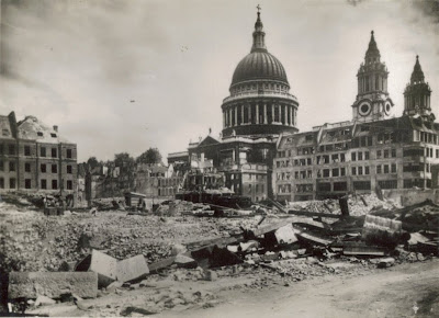 St Paul's Cathedral World War 2