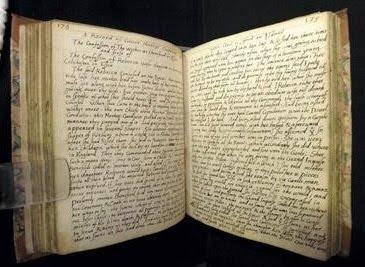 Nehemiah Wallington diaries of witchcraft
