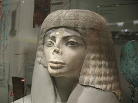 Egyptian bust 3000 y.o.