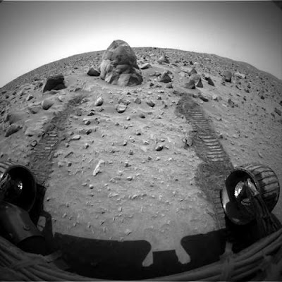 Mars photo from Mars Exploration Rover Mission