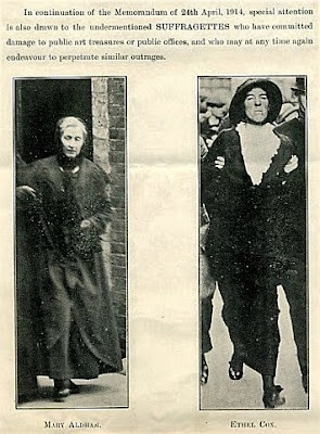 Suffragette movement Mary Aldham