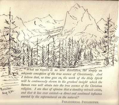 Sketch of the Alps Mary Aldham