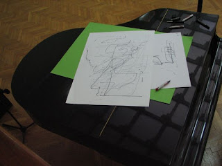 rysunek namalowany gitara elektryczna - mobile Adama Garnka