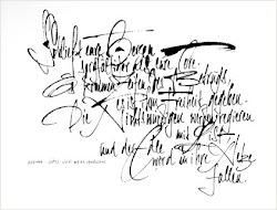 ejemlo de caligrafia literaria