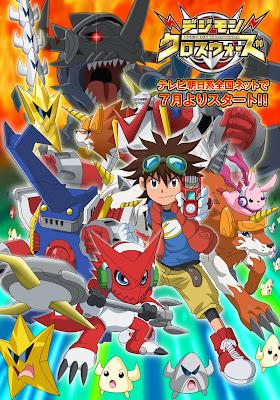 Capitulo 8 de Digimon Xros Wars , el sexto anime de la franquicia