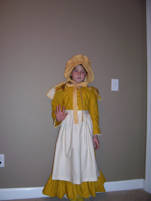 savannah as Laura Ingals Wilder