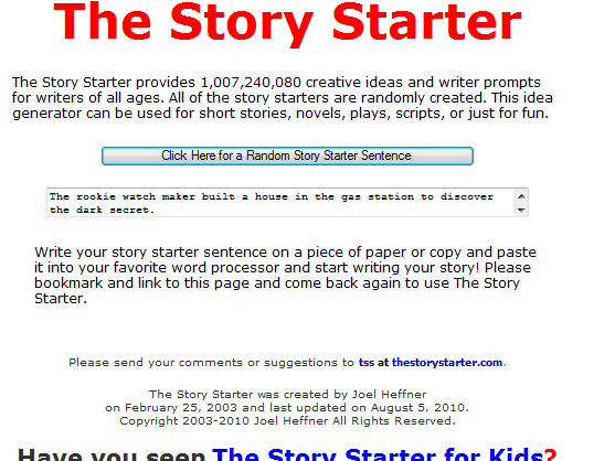 good ways to start a creative writing piece Jerz writing general creative writing short list of ways to start writing tips have givn me a good idea of short story writing~though i m good at.