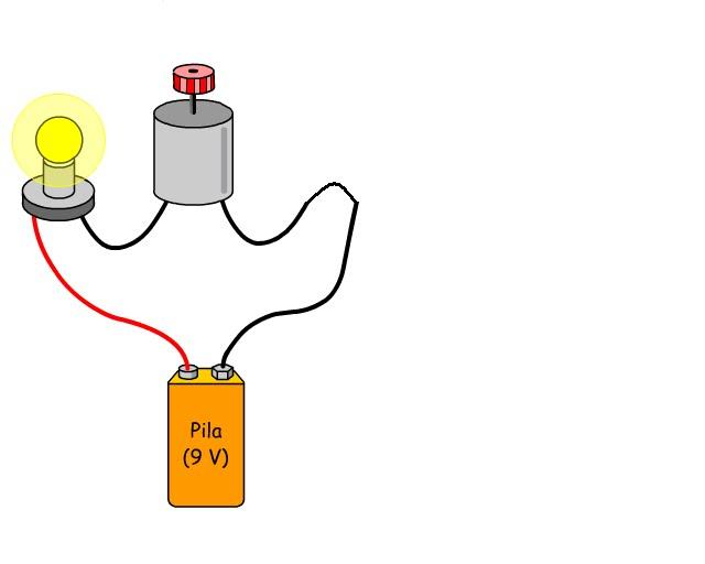 Circuito Que Tenga Un Interruptor Una Pila Y Una Bombilla : Electricidad