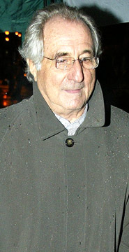 Bernard L. Madoff, a US Businessman