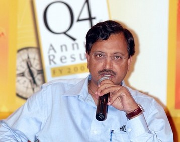 Ramalinga Raju, the founder & Chairman, Satyam Computers