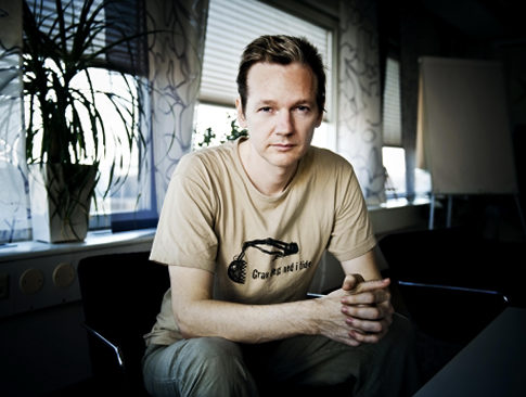 Julian Assange, Founder, WikiLeaks, a whistleblower website
