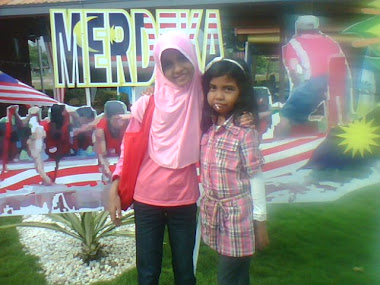 with my sister...