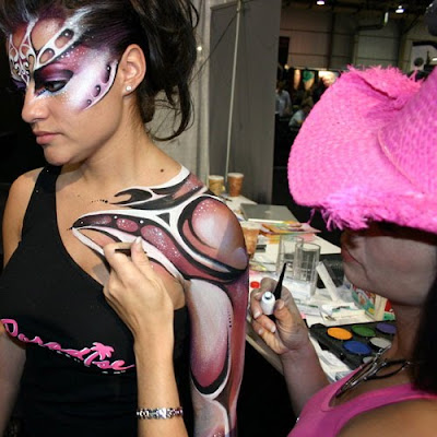 Body Art Paintig Photos