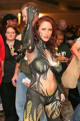 Witchblade Body Paint