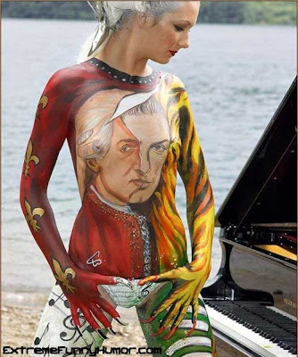 Coll Body Painting Tattoo: Spine Tattoo Design