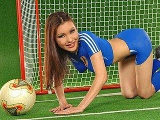 Football Body Paint