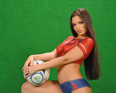 soccer body paint