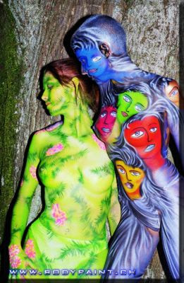 bodypainting,  design