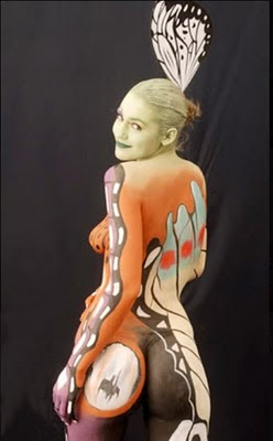 Inspired Body Painting Female