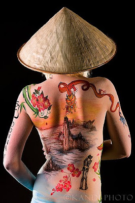 Artistic Body Paint