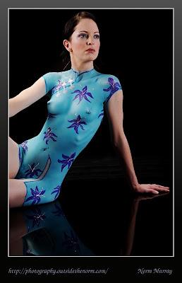 Bodypaint dress