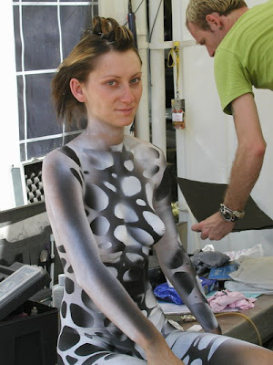 Picture Body Painting Photos - Abstract
