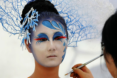 Festival Body Painting Art
