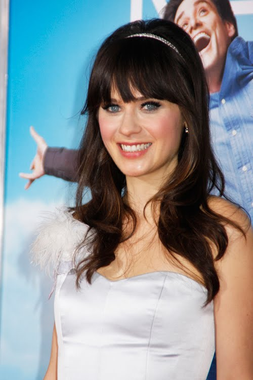 zooey deschanel fakes