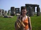 Лера в Англии (Июнь 2005)