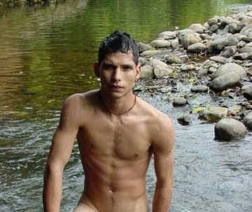Gay Men Skinny Dipping 121
