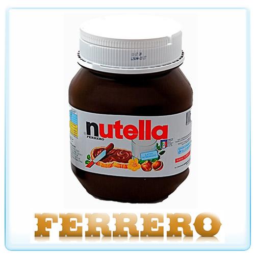Barattolo NUTELLA 5 Kg Nutellone Ferrero cioccolate jar ...