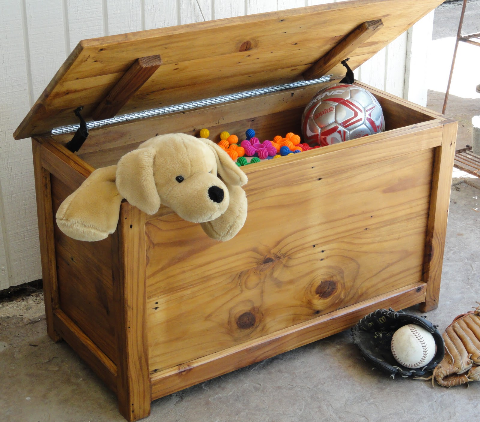Wooden Chest Toy Box Plans